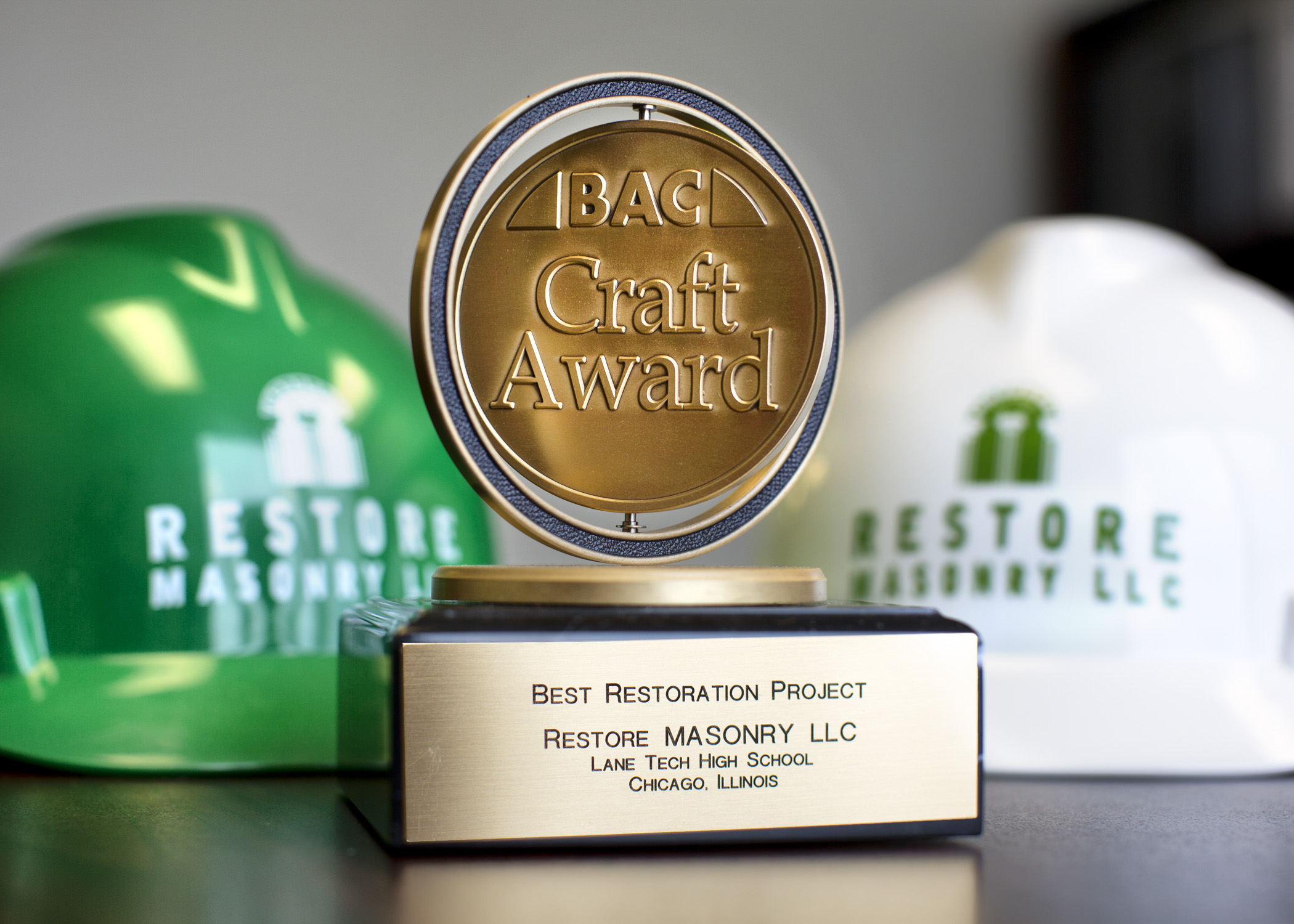 BAC Craft Award – Best Restoration Project